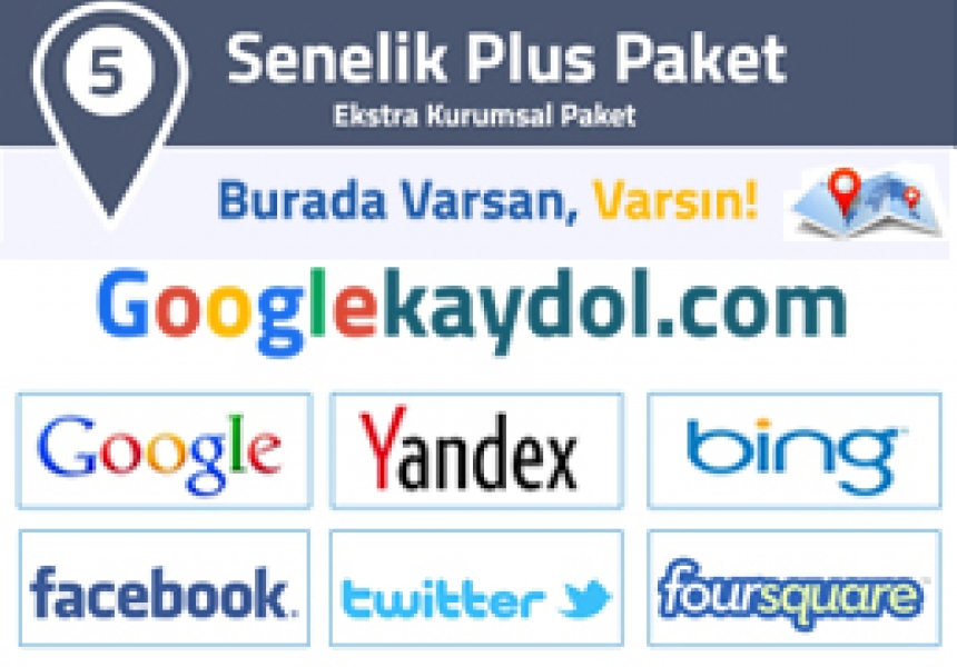 Google 5 Senelik Plus Paket